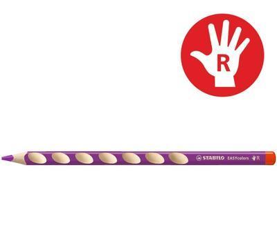 Stabilo EASYcolors 332/345 Pastelka pro praváky - červenofialová  - 1
