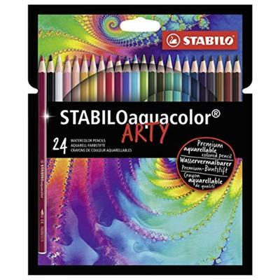 STABILOaquacolor ARTY - 24 barev - 1