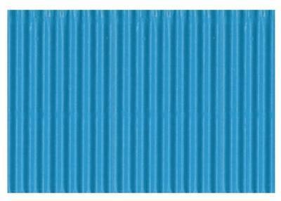 Karton vlnitý 50x70cm, 300g/m2 - světle modrý  - 1