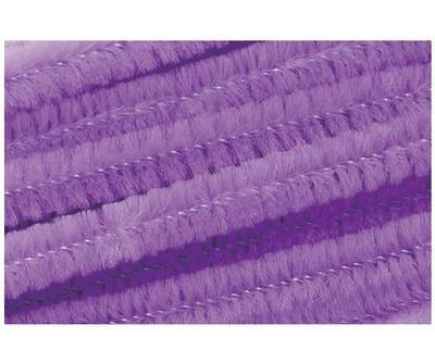 Žinilkový drát průměr 8mm, délka 50cm, 10ks - fialový
