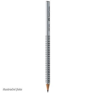 """Faber Castell Grafitová tužka GRIP 2001 - šedá 2B i pro """"L"""""""