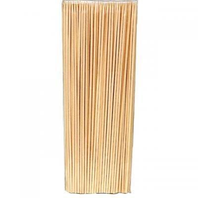 Špejle dřevěné hrocené 20cm/100ks