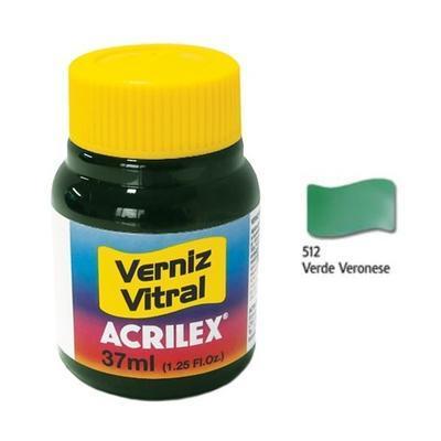 Vitrážová barva ACRILEX 37ml - Veronese Green - 1