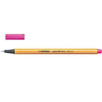 Stabilo Point 88/056 - fluorescentní růžová - 0,4 mm