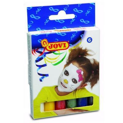 Jovi Obličejové barvy v tyčince - 6 ks - 1