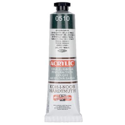 Akrylová barva Acrylic 40 ml č.0510 - zeleň tmavá