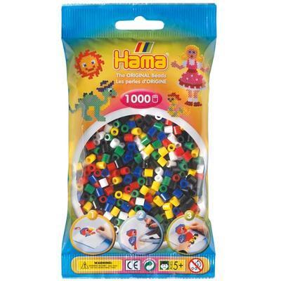 Hama MIDI Zažehlovací korálky  1000 ks - mix 6 barev - 1