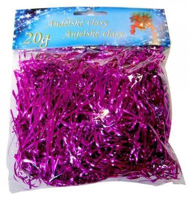 Andělské vlasy 20 g - růžové
