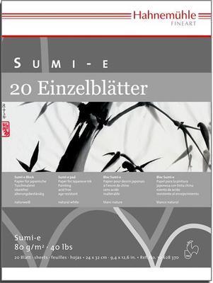 Sumi-e Blok pro kaligrafii  24x32 cm, 80 g/m2, 20 listů