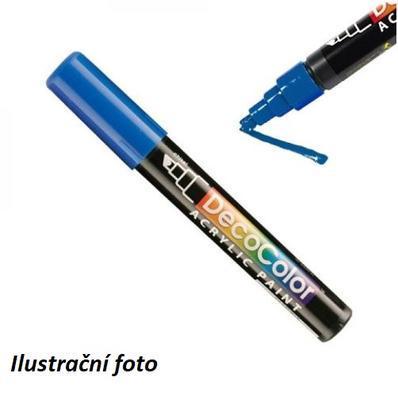 Popisovač MARVY DecoColor Acrylic - 3 modrý