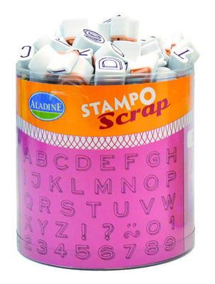 StampoScrap - Tři Abecedy - 1