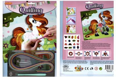 Quilling - koníček, labuť, motýl - 1