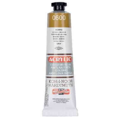 Akrylová barva Acrylic 40 ml č.0600 - okr