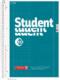 Student blok A4 duo, linka + čtver. 40+40 listů spirála - zelený - 1/3