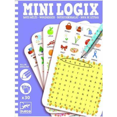 Djeco Mini logics - Učíme se anglicky - 1
