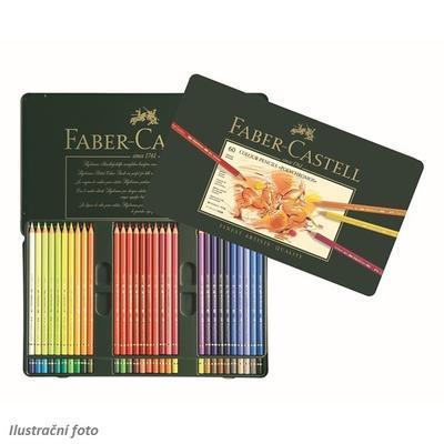 Faber-Castell Pastelky Polychromos - 60 ks v kovové etui - 1