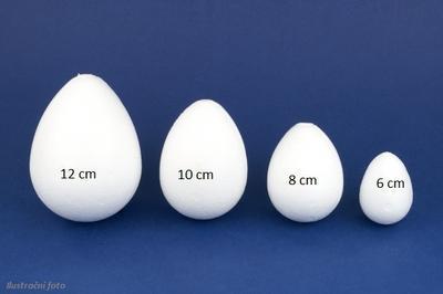 Vajíčko polystyrenové - 12 cm