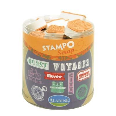StampoScrap - Cestovní nápisy - 1