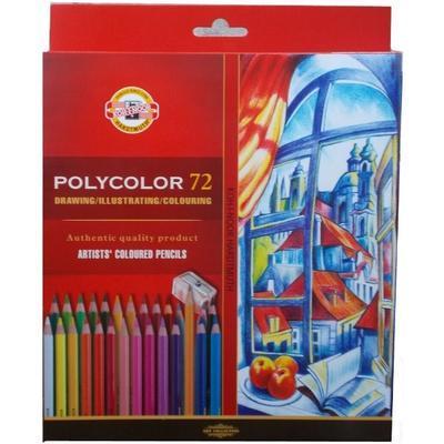 Koh-i-noor,Sada uměleckých pastelek POLYCOLOR - 72 ks - 1