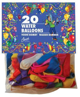 Balonky  Vodní bomby mix barev - 20 ks