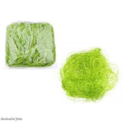 Dekorace tráva 30g - zelená - 1
