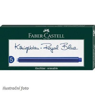 Faber-Castell Inkoustové bombičky - dlouhá modrá - 5 ks - 1