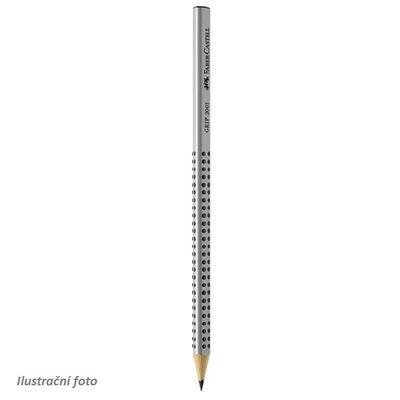 """Faber Castell Grafitová tužka GRIP 2001 - šedá HB i pro """"L"""""""
