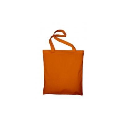 Taška bavlněná 38x42 cm - oranžová