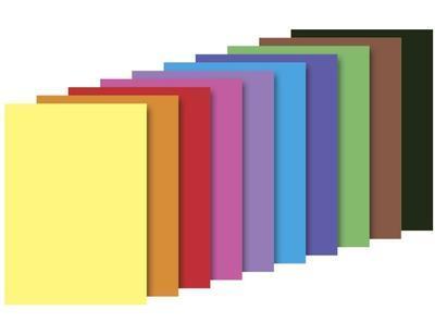 Barevný papír blok A3, 130 g/m2 - 10 listů   - 1