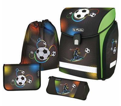 Školní aktovka Herlitz Midi vybavená  Fotbal - 1