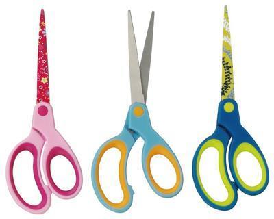 Nůžky špičaté dětské - barevné   - 1