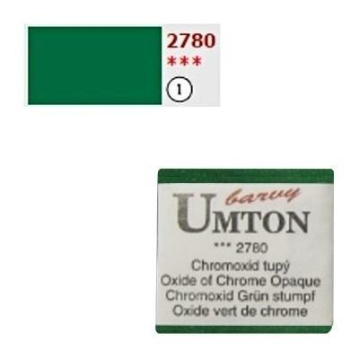 Akvarelová barva 2,6ml - Chromoxid tupý - 1
