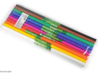 Koh-i-noor Krepový papír 9755/37 souprava mix 3 (10 barev - bílá a černá)