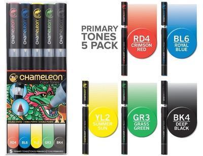 Chameleon Color Tones - 5 ks, Primary Tones - 1