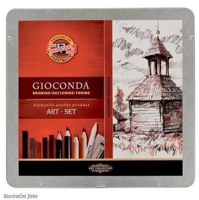 Gioconda Art set Kreslířská sada - 24 ks v kovové kazetě - 1