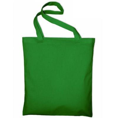 Taška bavlněná 38x42 cm - zelená