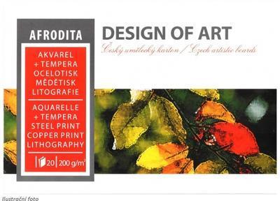 Blok akvarelový Afrodita A3, 200 g/m2, 20 listů