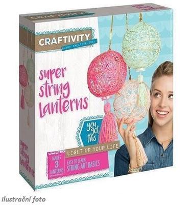 """Kreativní sada """"Craftivity"""" - Super String Lanterns - 1"""