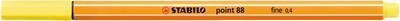 Stabilo Point 88/24 - citrónově žlutá - 0,4mm
