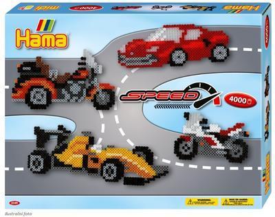 Hama Midi Velká dárková sada - Formule, 4000 ks - 1