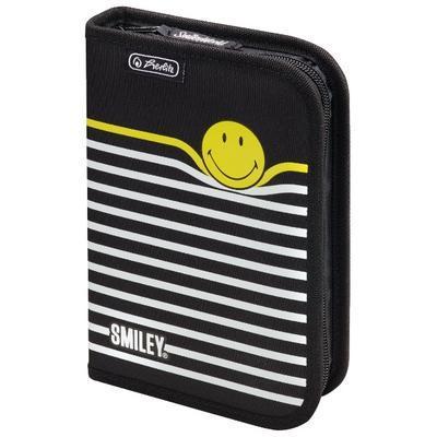 Penál prázdný Smiley World B&Y Stripes