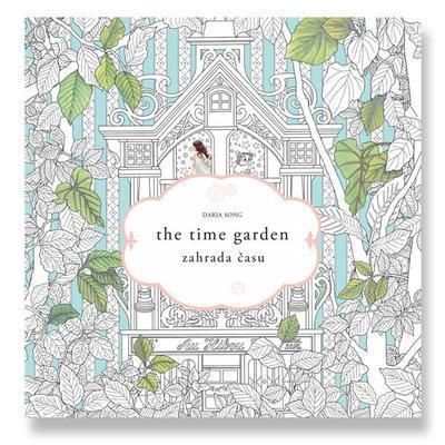 Omalovánky pro dospělé antistresové - Zahrada času - 1