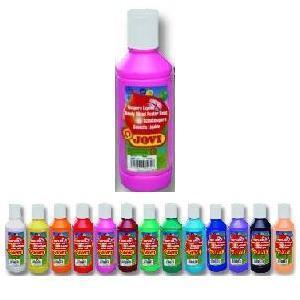 Jovi Temperové barvy  250ml v lahvi - purpurová - 1