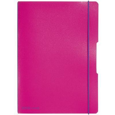 Sešit Flex A4, 2x40 listů - růžový - 1