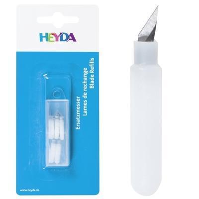 Sada náhradních nožů pro otočný kreativní nůž H4889563, 5ks