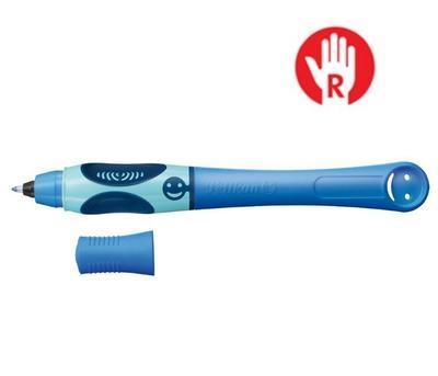 Pelikan Inkoustový roller Griffix 3 pro praváky - tmavě/světle modrý - 1