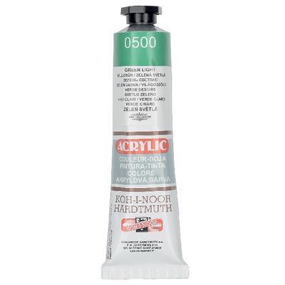 Akrylová barva Acrylic 40 ml č.0500 - zeleň světlá