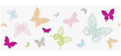Okenní páska 7,6cm x 2m - Motýlci - 1