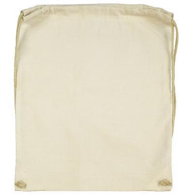 Bavlněný batoh 140 g/m2, 37x48 cm - natur - 1