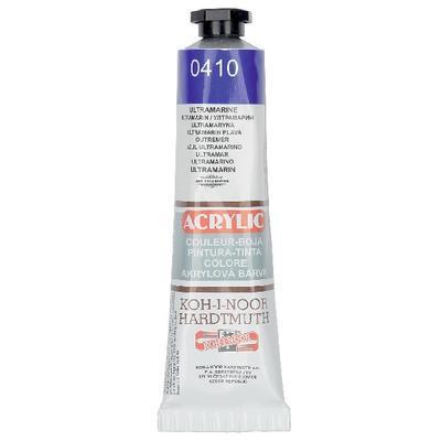 Akrylová barva Acrylic 40 ml č.0410 - ultramarin